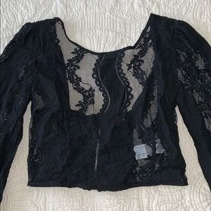 Forever 21 Tops - Lace crop top